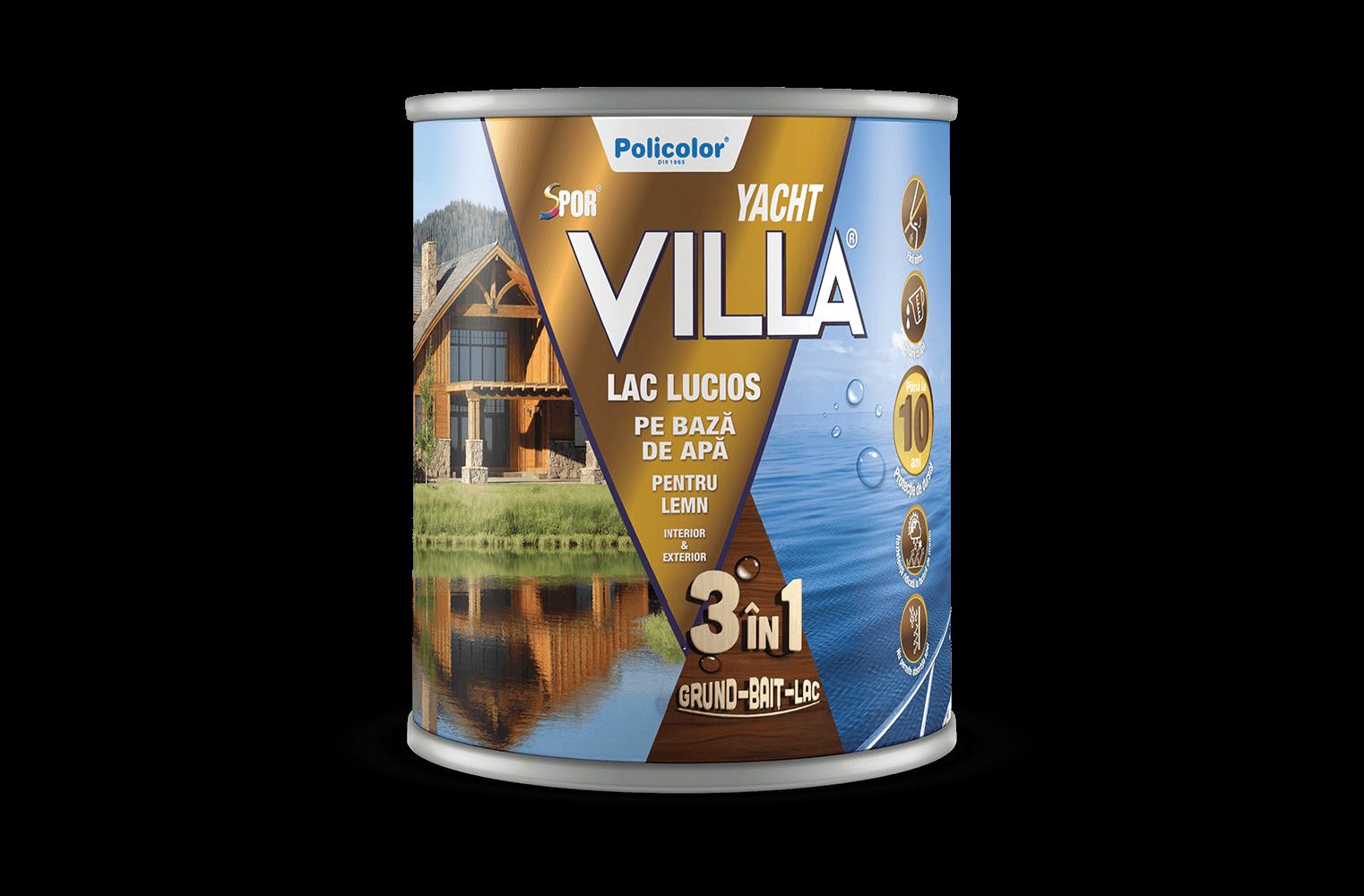Spor Villa Yacht Brand